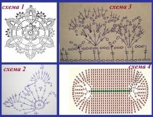 схемы для вязания сумки