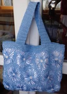 вязаная сумка на тенерифе