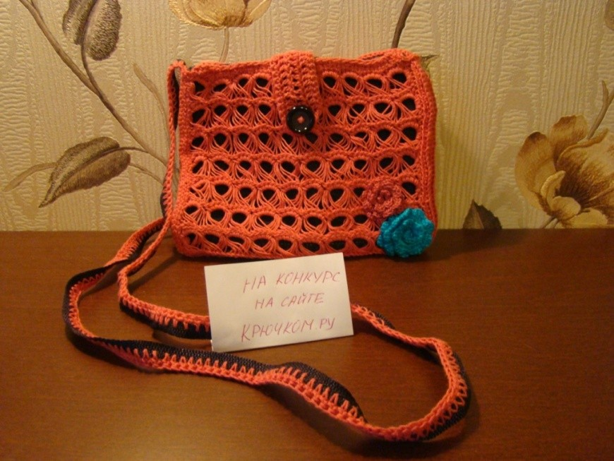 Вязание сумок крючком видео-уроки 968