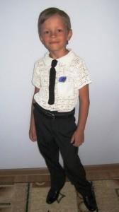 рубашка крючком