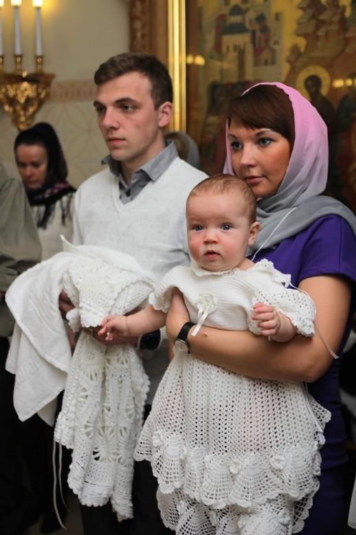 платье для крестин крючком