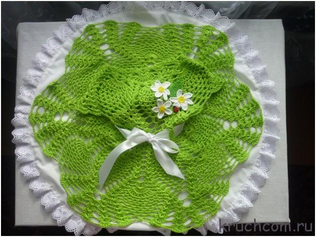 Схемы вязания крючком юбки с