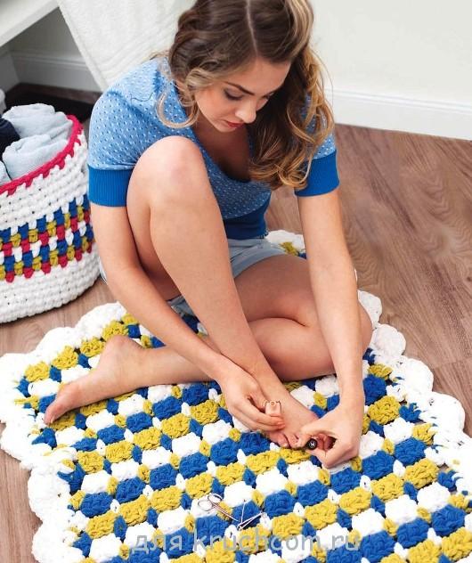 Вот такой потрясающий коврик,