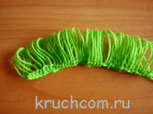 шарфик крючком