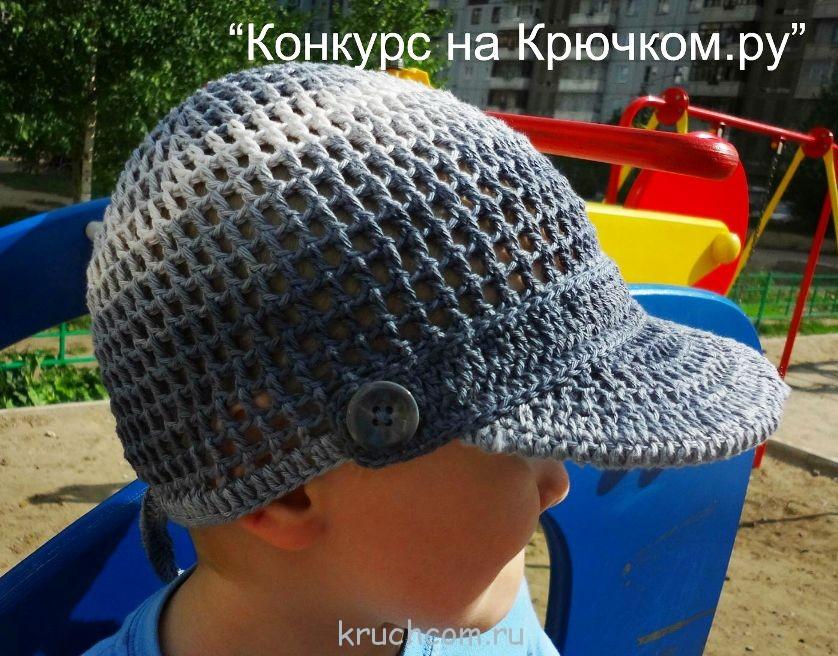 Основа шапки связана по кругу