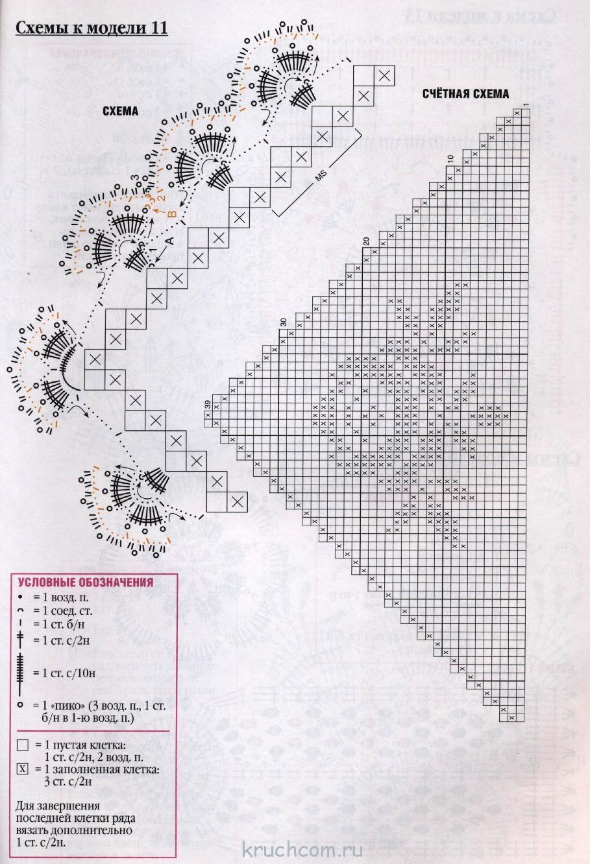 Филейная техника вязания 57