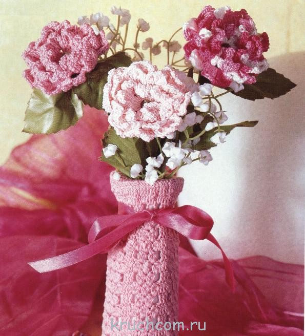 Вязаная ваза - Самое интересное в блогах - LiveInternet 37