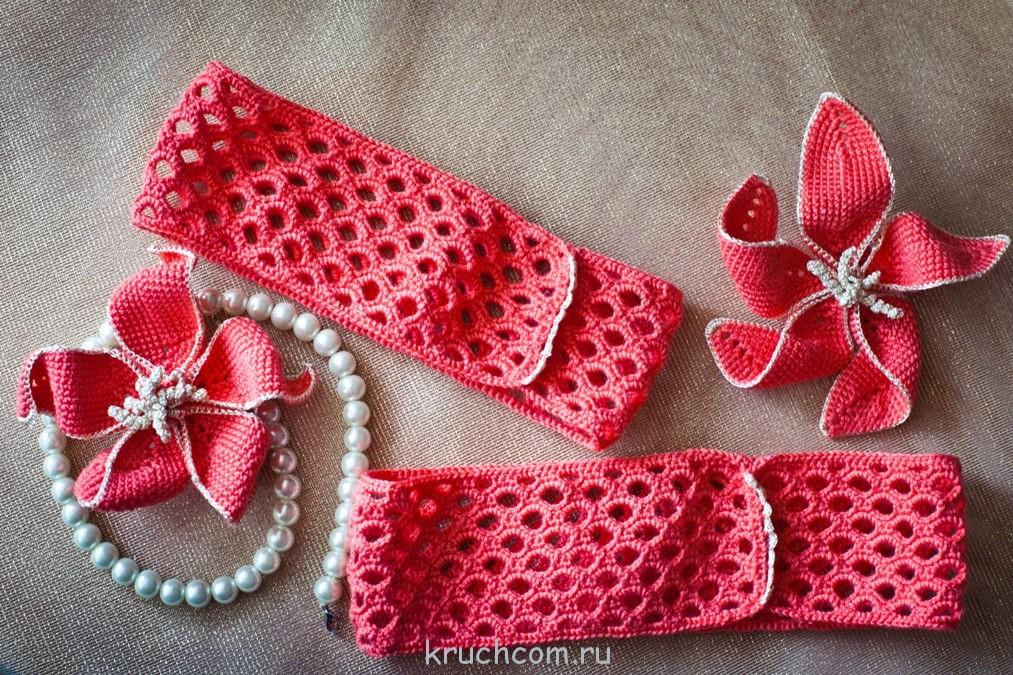 повязка | Вязание крючком