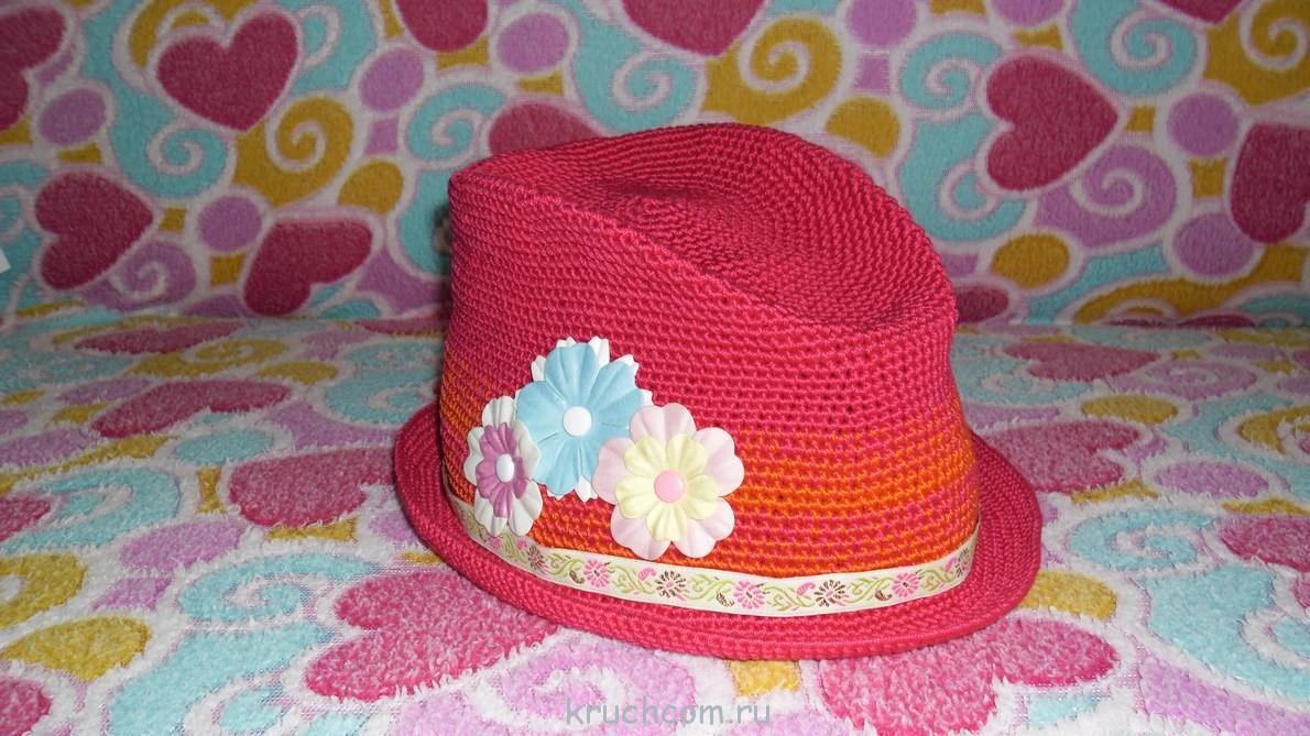 Как связать шляпку мастер класс