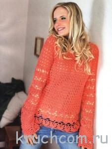 Вязание для женщин. жакет, пуловер. словно наполнен долгожданным весенним солнцем. .  Интенсивно-яркий цвет, как у...