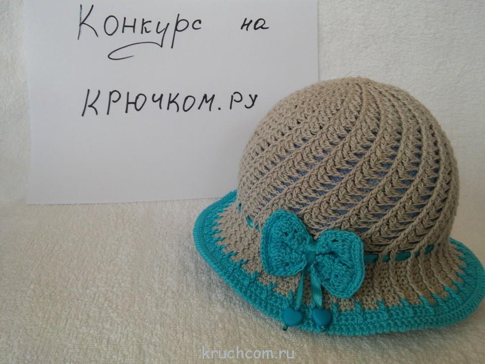 Мастер класс вязания шляпки крючком 162
