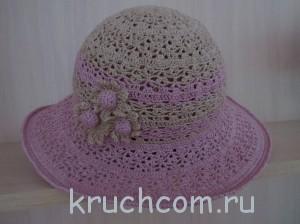 вязаня шляпка крючком
