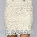 Ажурная юбка со схемами вязания