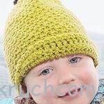 Детская шапочка с козырьком