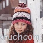 Шапочка и повязка  с накрукавниками для девочки и мальчика