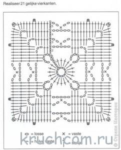 схема квадратного мотива