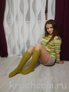 вязаный свитер и шорты крючком