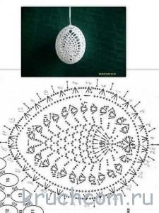 яйца на пасху схемы