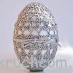 Вязаные яйца на пасху схемы