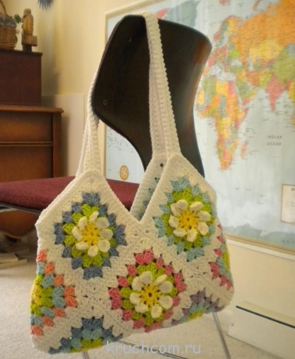 Вязание сумок из мотивов 191
