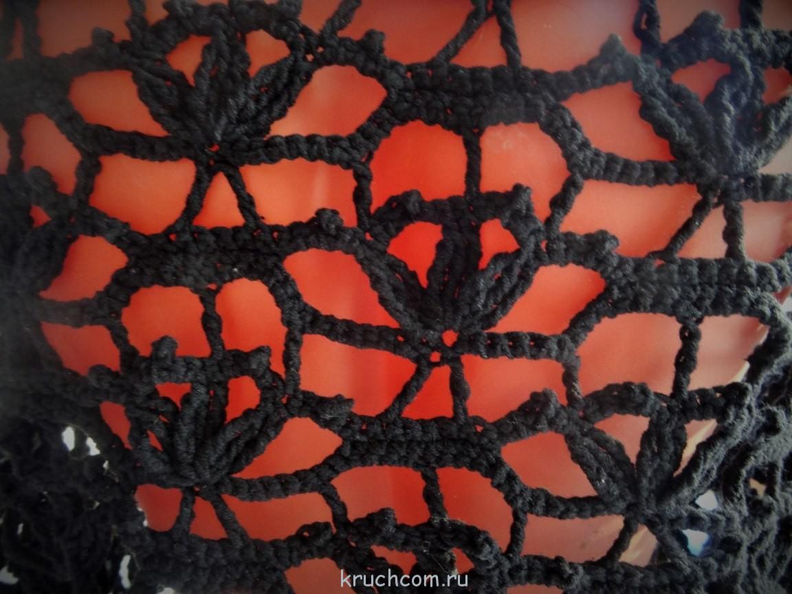 ажурное вязание из хлопка