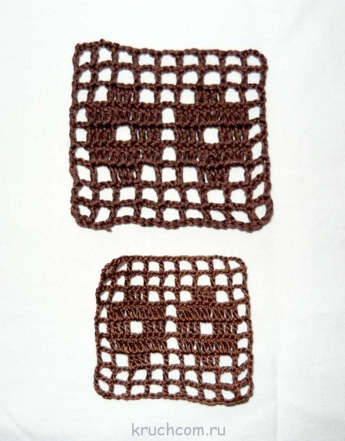 Схемы для кофт филейного вязания