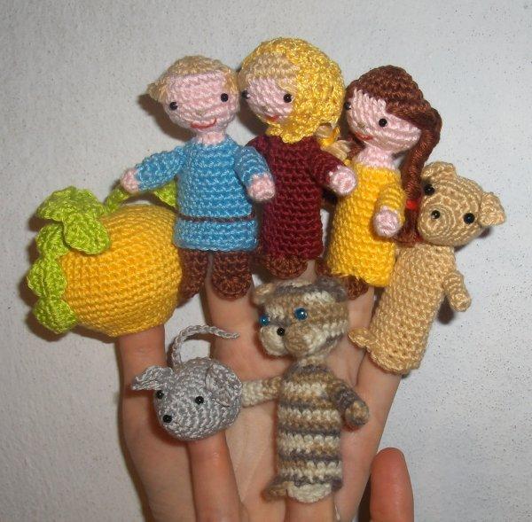 вязаные игрушки вязание крючком бесплатная схема фото Kruchcomru