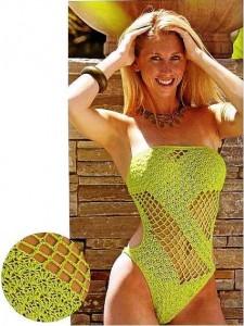 вязание купальника