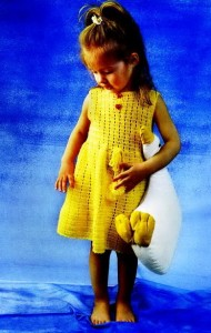 платье для девочки крючком