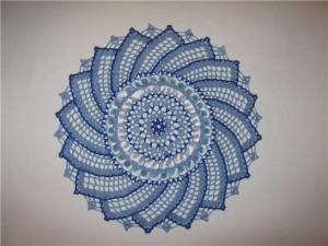 вязание салфеток