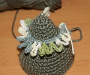вязание елочки
