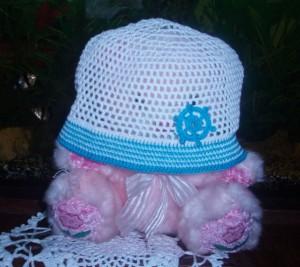 шапочка для мальчика крючком