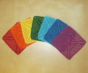 квадраты радуга