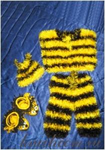 костюм пчеленка своими руками