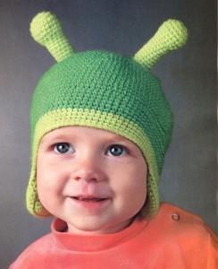 вязаная шапочка для мальчика крючком