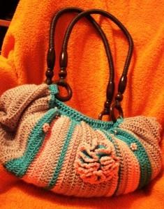 сумка мешок крючком