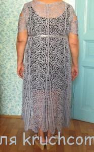 платье с брюггским кружевом