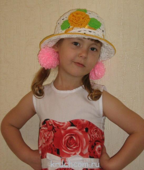 схемы вязания шляпок крючком с описаниями бесплатно Kruchcomru