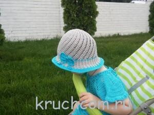 шляпка крючком