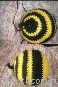 пчелка Мая крючком