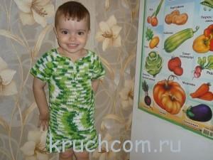 футболка и шортики для мальчика