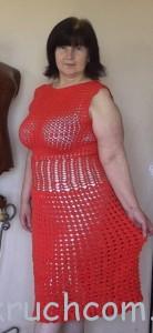 платье -коралловое лето-2
