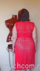 платье-коралловое лето-4