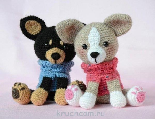 схемы вязания игрушек крючком с описаниями бесплатно Kruchcomru